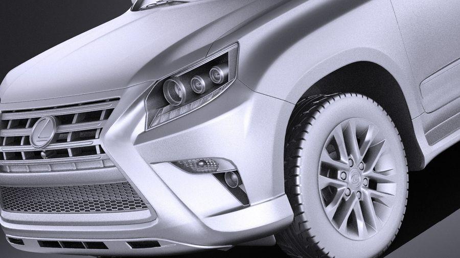 Lexus GX 460 2016 VRAY royalty-free 3d model - Preview no. 10