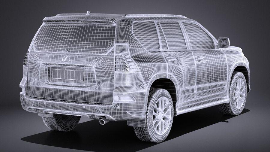 Lexus GX 460 2016 VRAY royalty-free 3d model - Preview no. 14