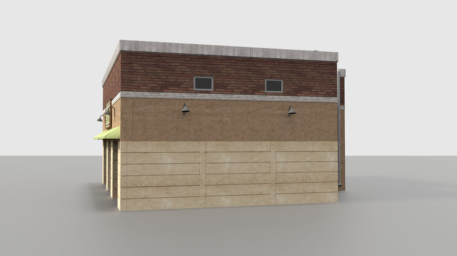 Warehouse asset royalty-free 3d model - Preview no. 3