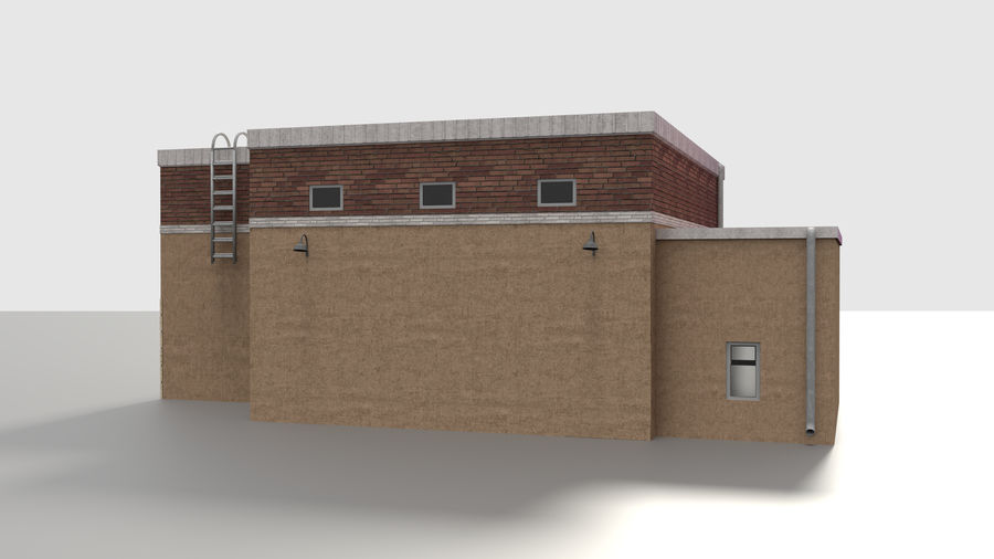 Warehouse asset royalty-free 3d model - Preview no. 5