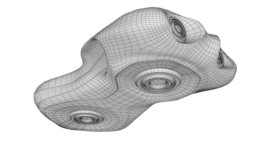 Sci-Fi Ship royalty-free 3d model - Preview no. 13