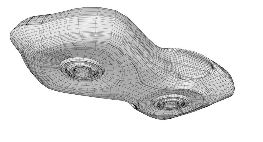 Sci-Fi Ship royalty-free 3d model - Preview no. 14