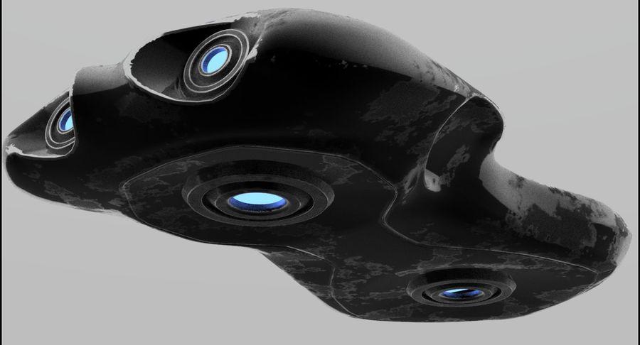 Sci-Fi Ship royalty-free 3d model - Preview no. 7
