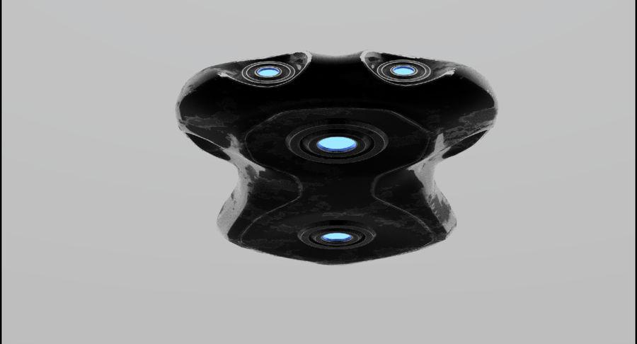 Sci-Fi Ship royalty-free 3d model - Preview no. 9