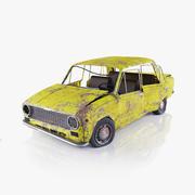 VAZ 2101 Rusty 3d model