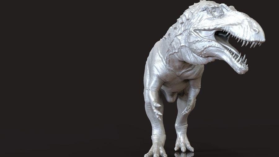 Modèle Acrosaurus (dinosaure) royalty-free 3d model - Preview no. 7