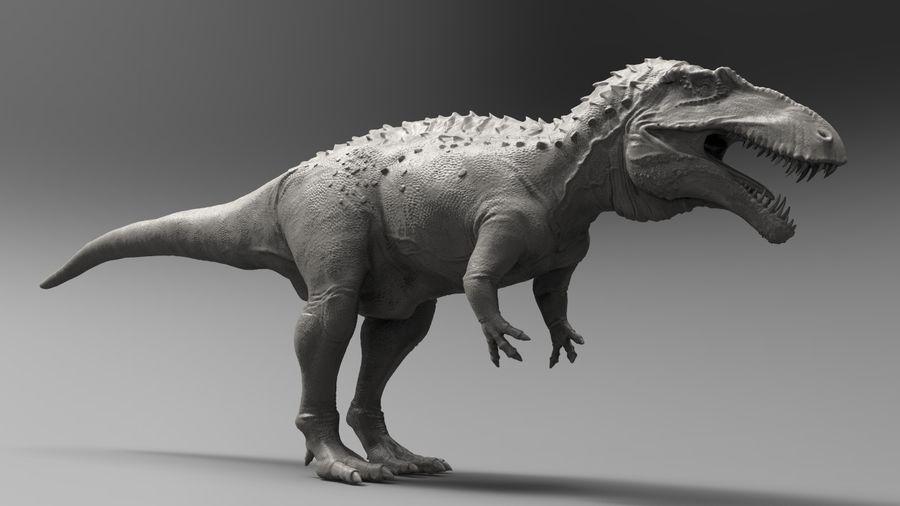 Modèle Acrosaurus (dinosaure) royalty-free 3d model - Preview no. 10