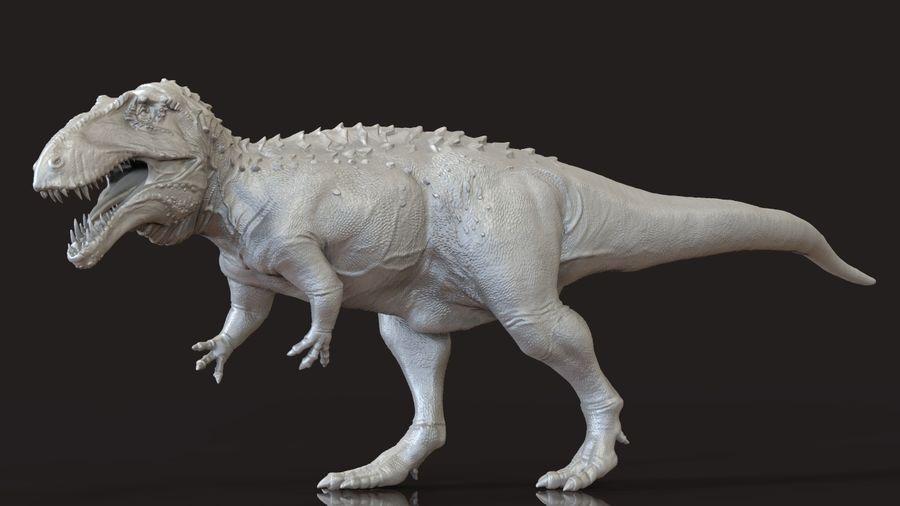 Modèle Acrosaurus (dinosaure) royalty-free 3d model - Preview no. 1