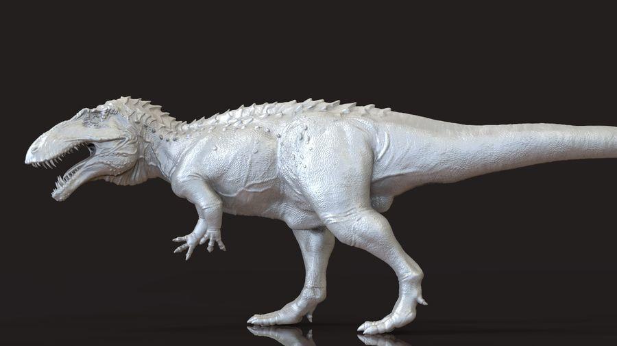 Modèle Acrosaurus (dinosaure) royalty-free 3d model - Preview no. 5