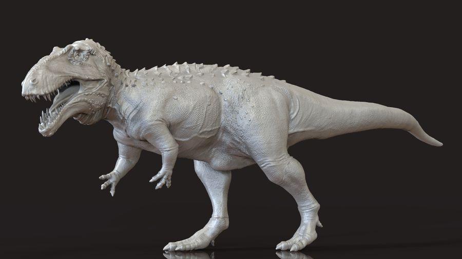 Modèle Acrosaurus (dinosaure) royalty-free 3d model - Preview no. 4