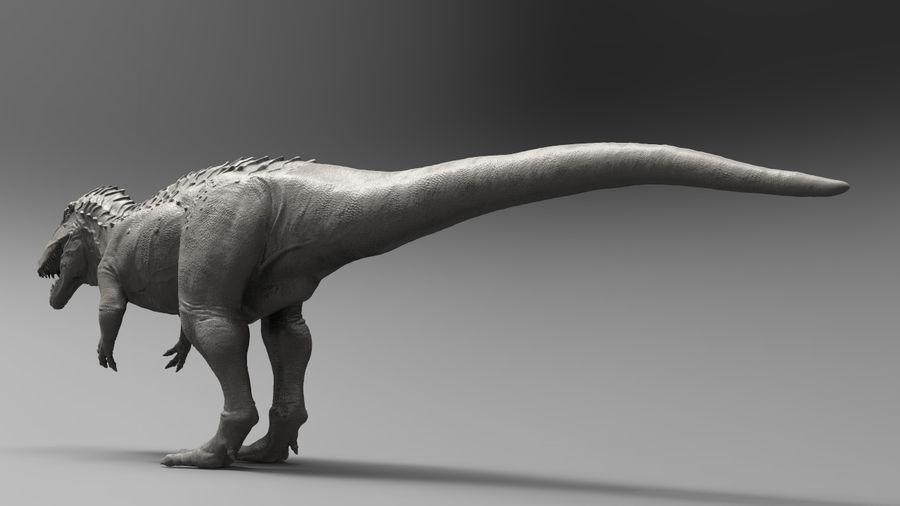 Modèle Acrosaurus (dinosaure) royalty-free 3d model - Preview no. 11