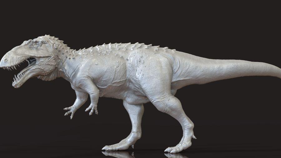 Modèle Acrosaurus (dinosaure) royalty-free 3d model - Preview no. 9