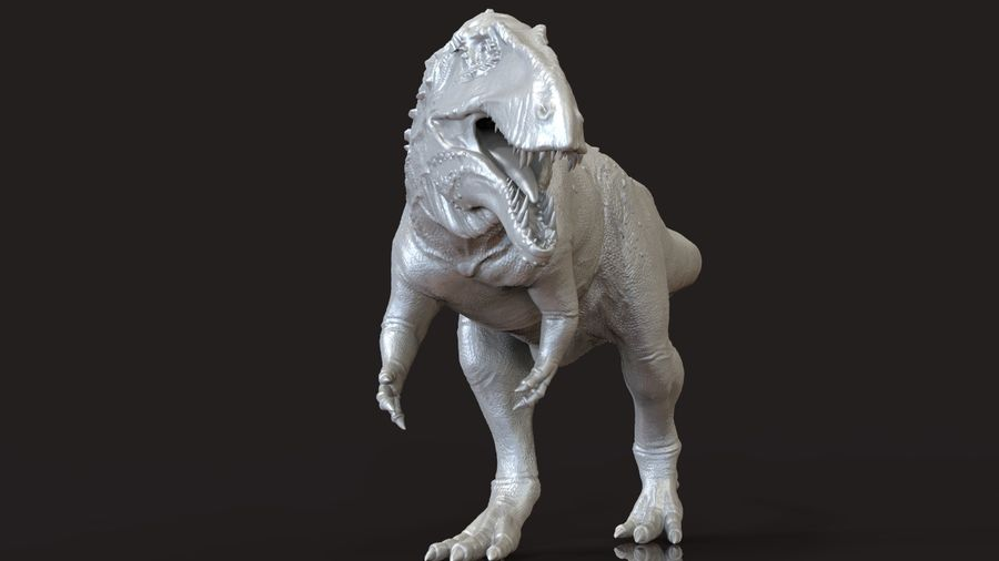 Modèle Acrosaurus (dinosaure) royalty-free 3d model - Preview no. 3