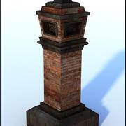 Brick Chimney V1 3d model