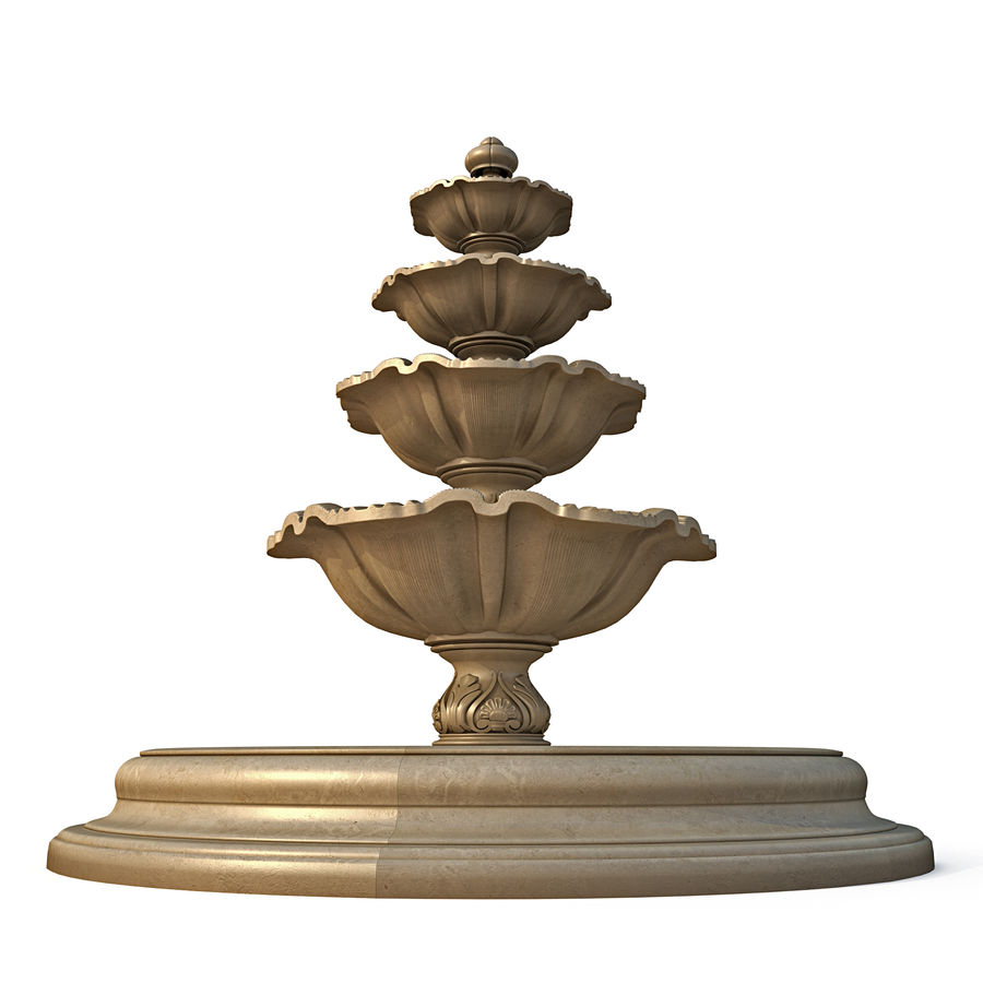 fountain royalty-free 3d model - Preview no. 2
