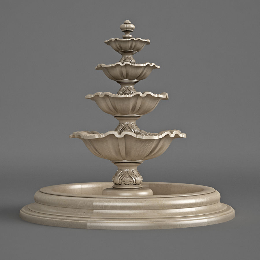 fountain royalty-free 3d model - Preview no. 5