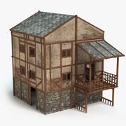 Medieval House 4 3d model