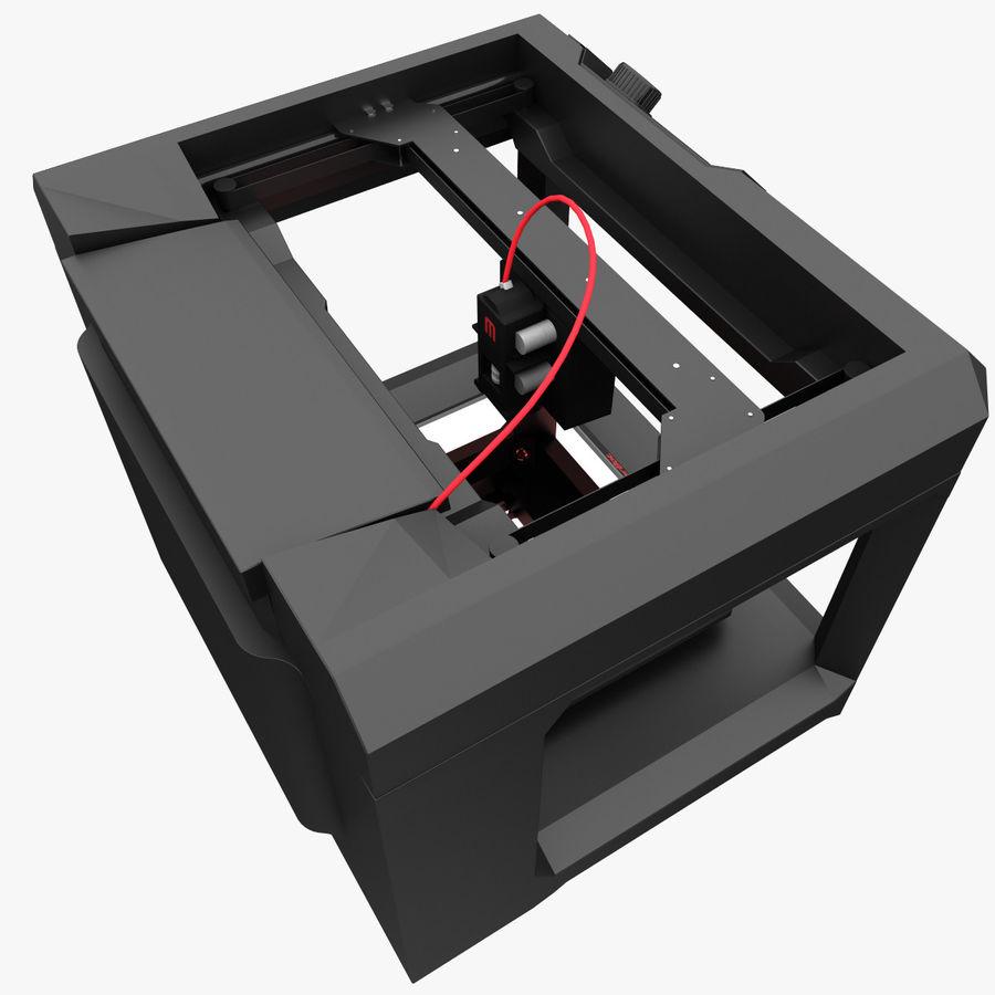 Makerbot Replicator 3D Printer 5th Gen royalty-free 3d model - Preview no. 5