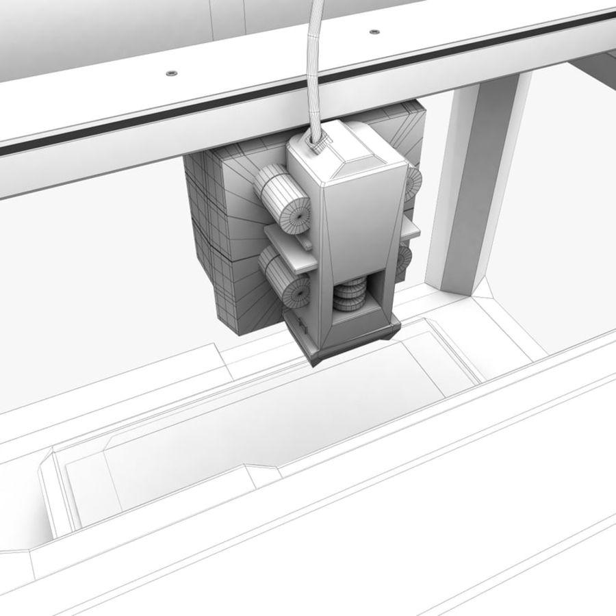 Makerbot Replicator 3D Printer 5th Gen royalty-free 3d model - Preview no. 18