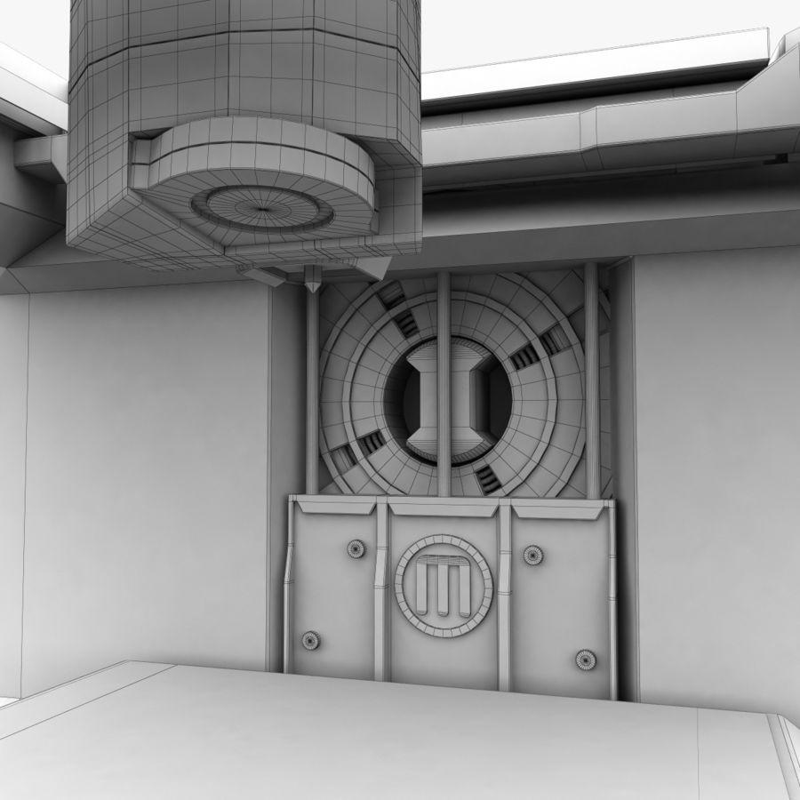 Makerbot Replicator 3D Printer 5th Gen royalty-free 3d model - Preview no. 17