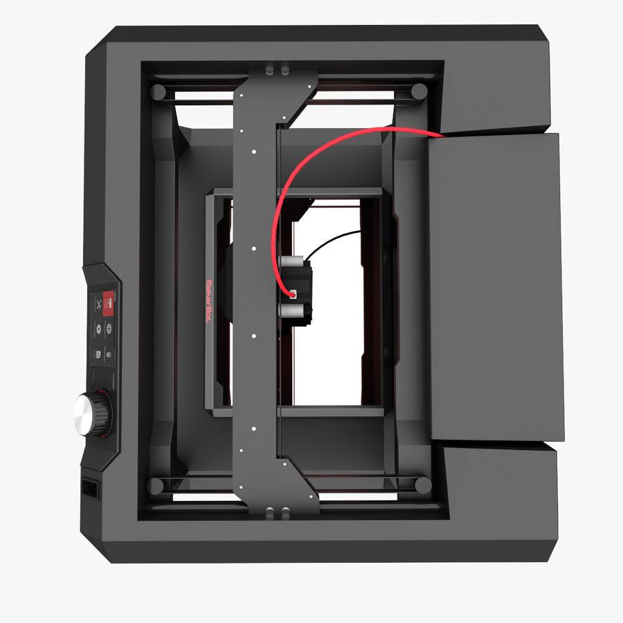 Makerbot Replicator 3D Printer 5th Gen royalty-free 3d model - Preview no. 7