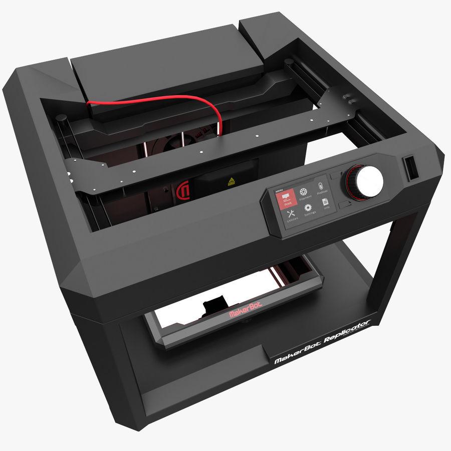 Makerbot Replicator 3D Printer 5th Gen 3D Model $21