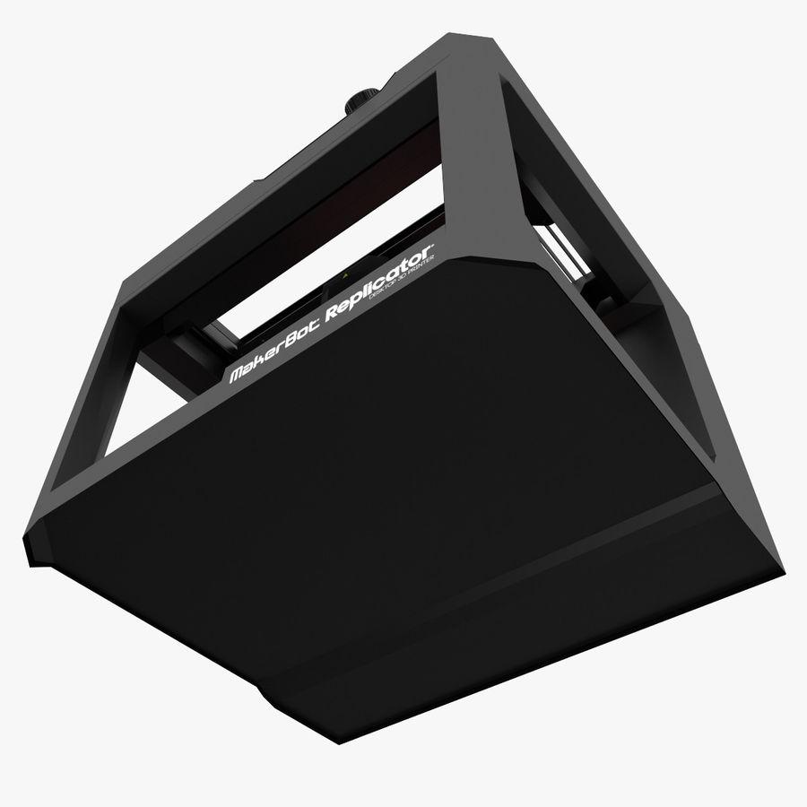 Makerbot Replicator 3D Printer 5th Gen royalty-free 3d model - Preview no. 16