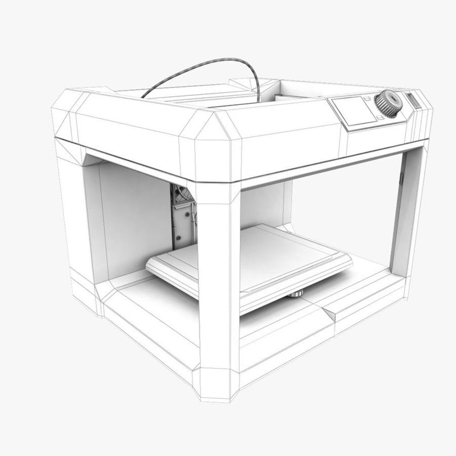 Makerbot Replicator 3D Printer 5th Gen royalty-free 3d model - Preview no. 19