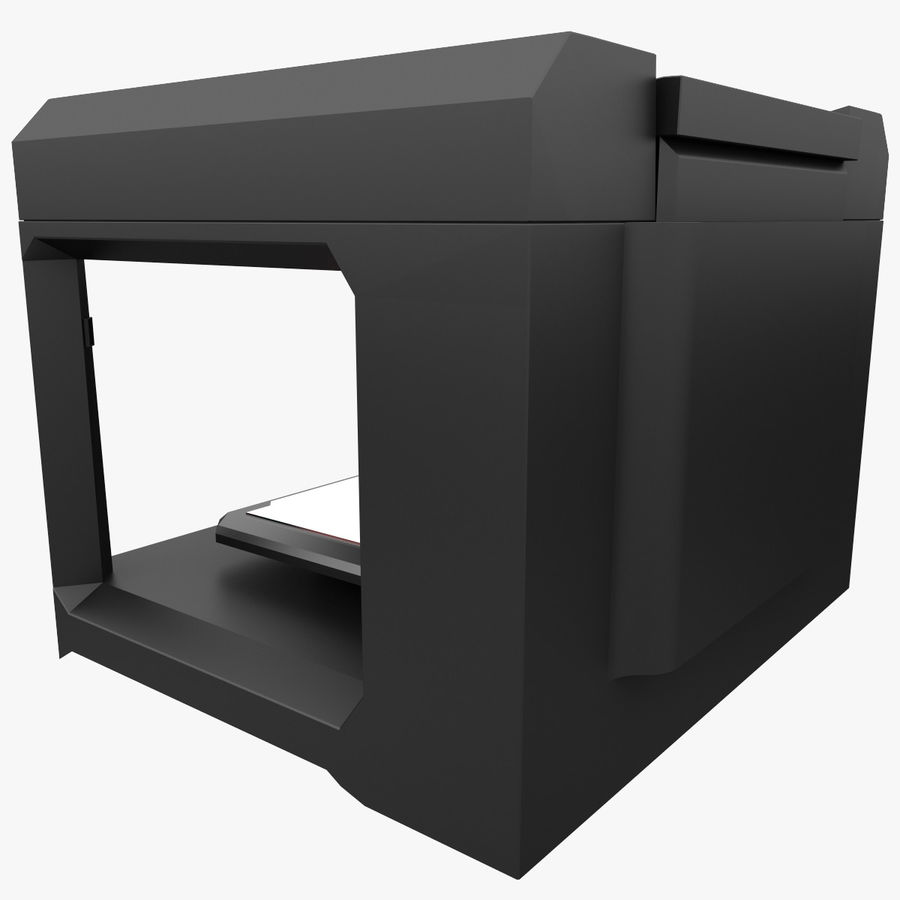 Makerbot Replicator 3D Printer 5th Gen royalty-free 3d model - Preview no. 3