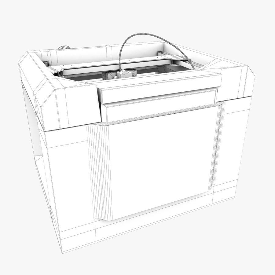 Makerbot Replicator 3D Printer 5th Gen royalty-free 3d model - Preview no. 14