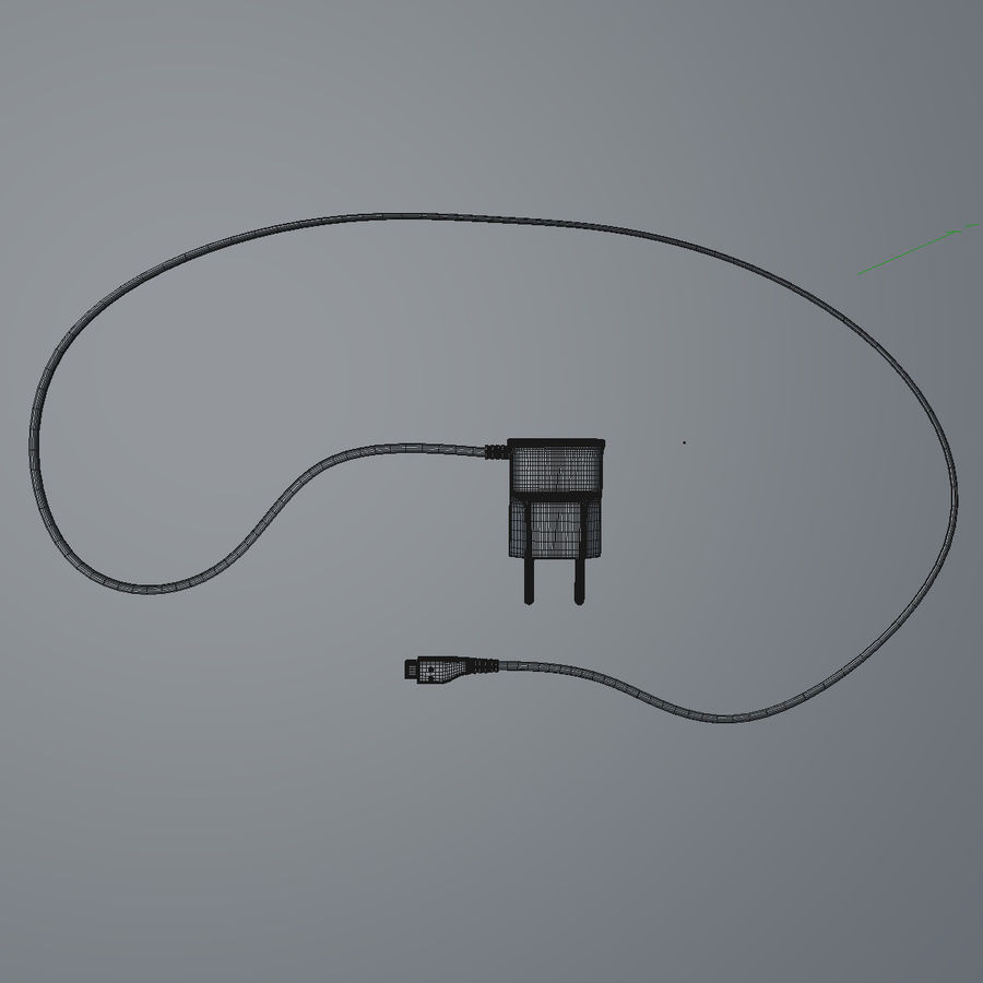 Charger royalty-free 3d model - Preview no. 6