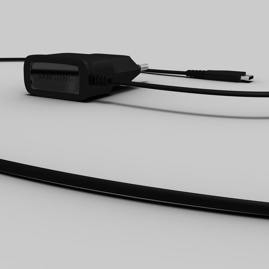 Charger royalty-free 3d model - Preview no. 3