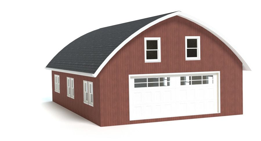Barn royalty-free 3d model - Preview no. 8