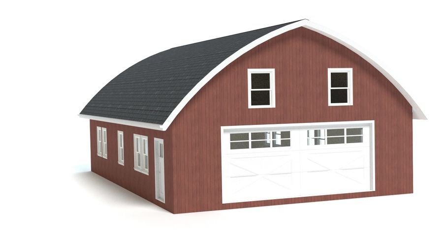 Barn royalty-free 3d model - Preview no. 5