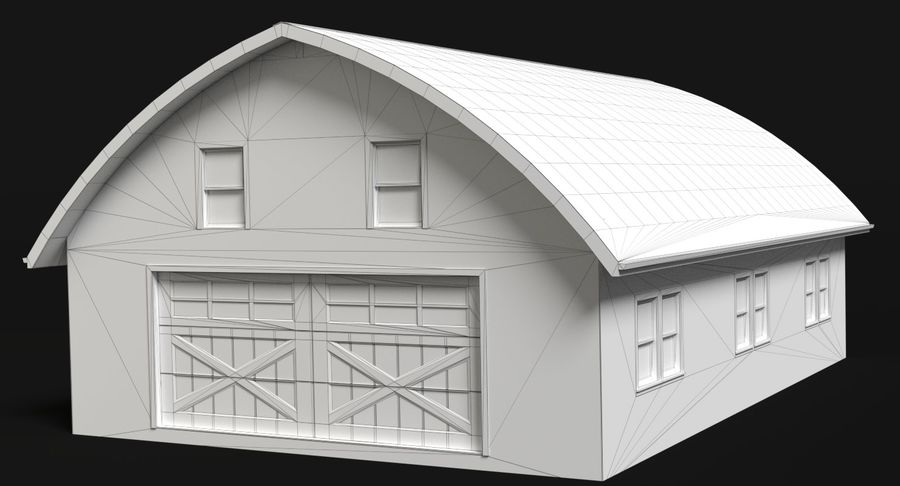 Barn royalty-free 3d model - Preview no. 4
