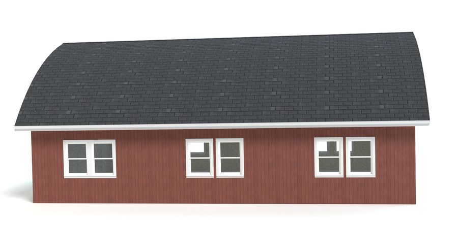 Barn royalty-free 3d model - Preview no. 9