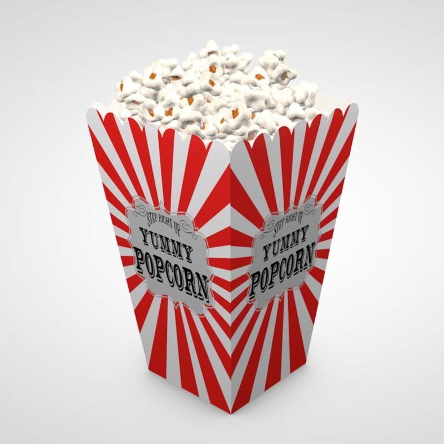 Popcorn 3D Model $15 -  c4d - Free3D