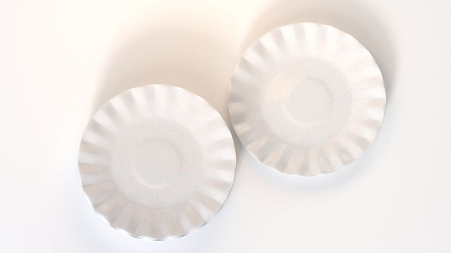 Ceramic Plate royalty-free 3d model - Preview no. 3