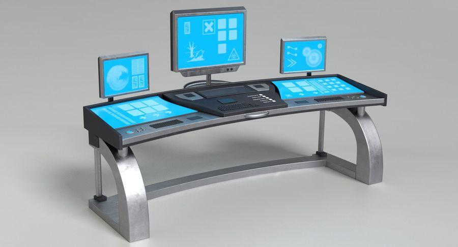 Panneau de configuration Sci-Fi 2 royalty-free 3d model - Preview no. 3