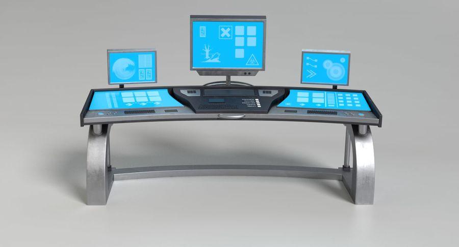 Panneau de configuration Sci-Fi 2 royalty-free 3d model - Preview no. 11