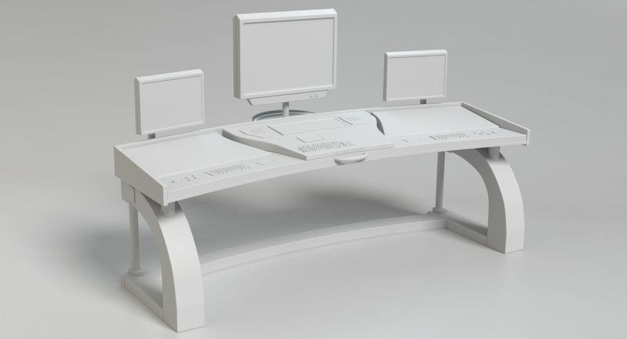 Panneau de configuration Sci-Fi 2 royalty-free 3d model - Preview no. 12