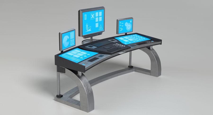 Panneau de configuration Sci-Fi 2 royalty-free 3d model - Preview no. 4