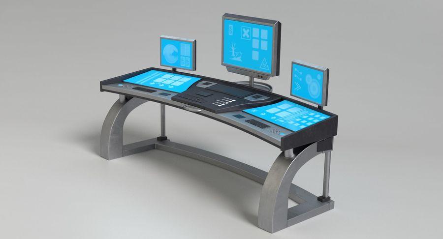 Panneau de configuration Sci-Fi 2 royalty-free 3d model - Preview no. 10