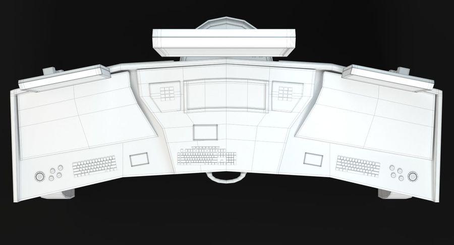 Panneau de configuration Sci-Fi 2 royalty-free 3d model - Preview no. 15