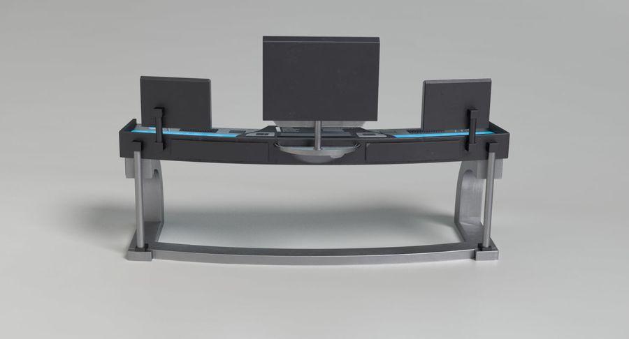 Panneau de configuration Sci-Fi 2 royalty-free 3d model - Preview no. 7