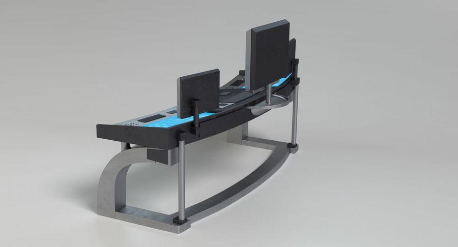 Panneau de configuration Sci-Fi 2 royalty-free 3d model - Preview no. 8