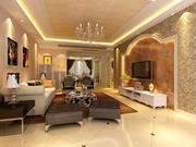 Classic Living Room 3d model