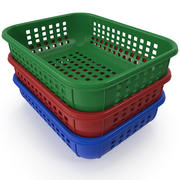 Plastic Basket 3d model