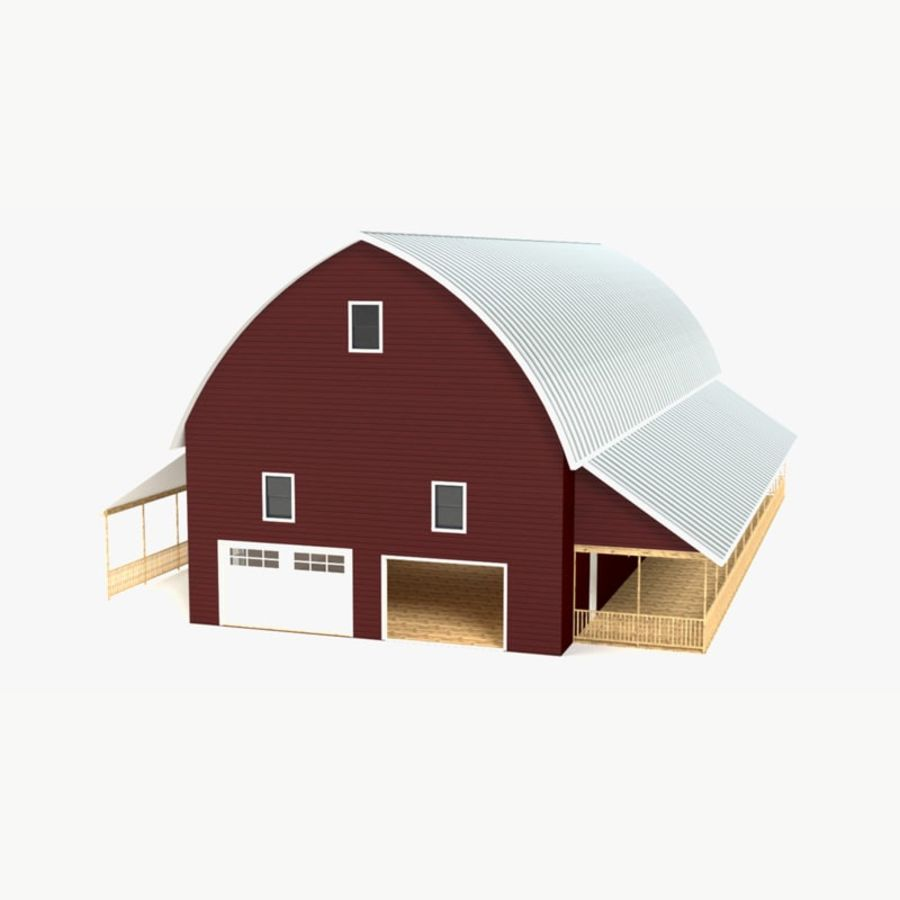 Barn 2 royalty-free 3d model - Preview no. 1