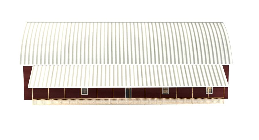 Barn 2 royalty-free 3d model - Preview no. 8